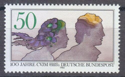 Poštovní známka Nìmecko 1982 Mladý pár Mi# 1133