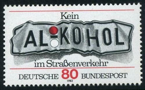 Poštovní známka Nìmecko 1982 Boj proti alkoholu za volantem Mi# 1145