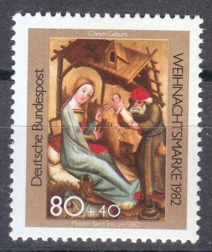 Poštovní známka Nìmecko 1982 Vánoce, umìní Mi# 1161