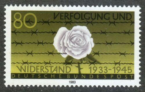 Poštovní známka Nìmecko 1983 Bílá rùže Mi# 1163