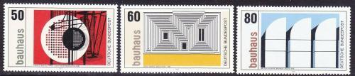 Poštovní známky Nìmecko 1983 Bauhaus Mi# 1164-66 Kat 3.50€