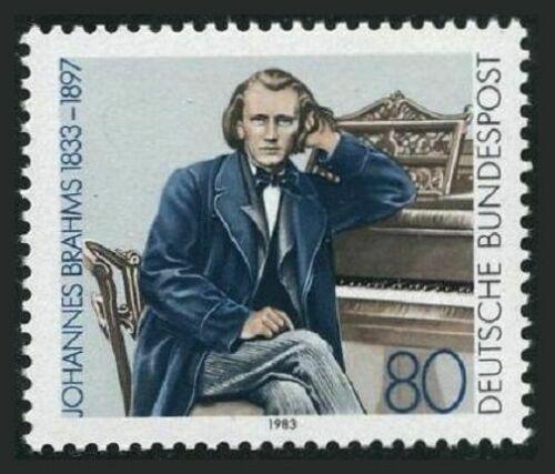 Poštovní známka Nìmecko 1983 Johannes Brahms, skladatel Mi# 1177