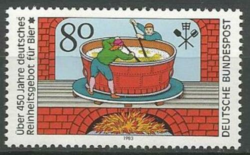 Poštovní známka Nìmecko 1983 Pivovarnictví Mi# 1179
