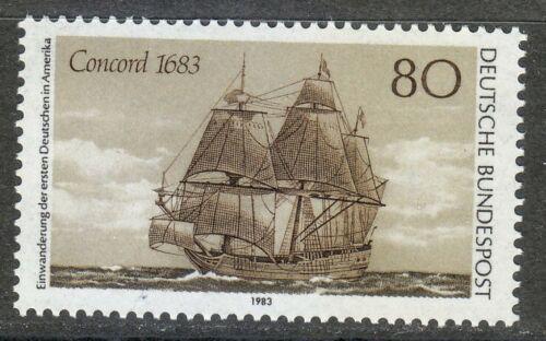 Poštovní známka Nìmecko 1983 Plachetnice Concord Mi# 1180