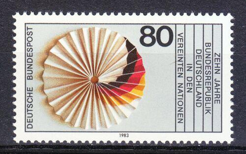 Poštovní známka Nìmecko 1983 Èlenství v OSN, 10. výroèí Mi# 1185