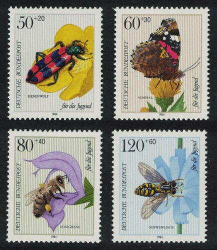 Poštovní známky Nìmecko 1984 Hmyz Mi# 1202-05 Kat 6.50€
