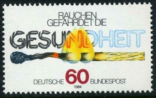 Poštovní známka Nìmecko 1984 Protikuøácká kampaò Mi# 1232