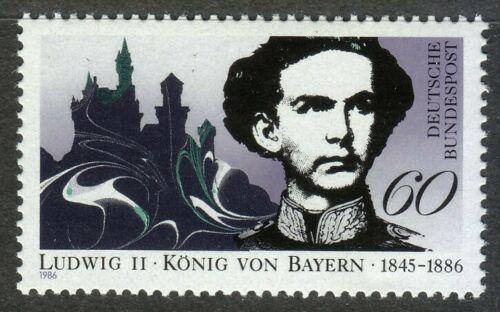 Poštovní známka Nìmecko 1986 Král Ludvík II. Bavorský Mi# 1281