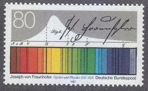 Poštovní známka Nìmecko 1987 Sluneèní spektrum Mi# 1313