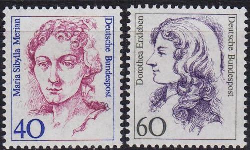 Poštovní známky Nìmecko 1987 Slavné ženy Mi# 1331-32