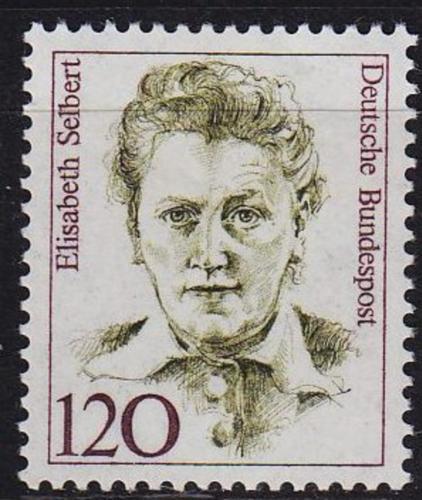 Poštovní známka Nìmecko 1987 Elisabeth Selbert Mi# 1338