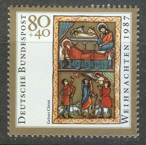 Poštovní známka Nìmecko 1987 Vánoce, miniatura Mi# 1346