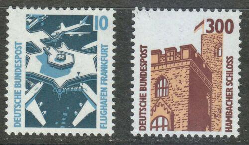 Poštovní známky Nìmecko 1988 Pamìtihodnosti Mi# 1347-48 Kat 4€