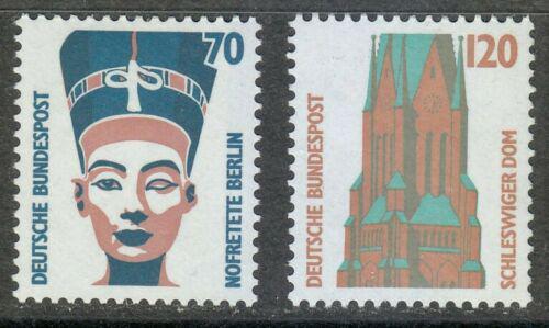Poštovní známky Nìmecko 1988 Pamìtihodnosti Mi# 1374-75
