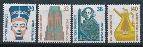 Poštovní známky Nìmecko 1989 Pamìtihodnosti Mi# 1398-1401 Kat 4.50€