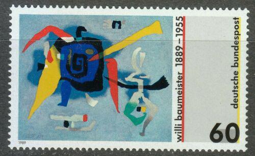 Poštovní známka Nìmecko 1989 Umìní, Willi Baumeister Mi# 1403