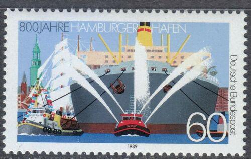 Poštovní známka Nìmecko 1989 Pøístav Hamburk Mi# 1419