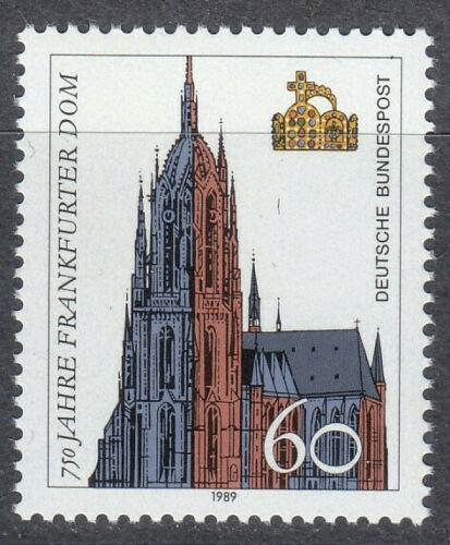 Poštovní známka Nìmecko 1989 Frankfurtská katedrála, 750. výroèí Mi# 1434