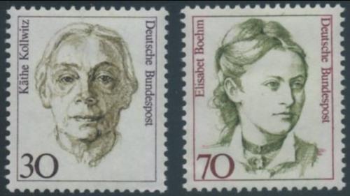 Poštovní známky Nìmecko 1991 Slavné ženy Mi# 1488-89