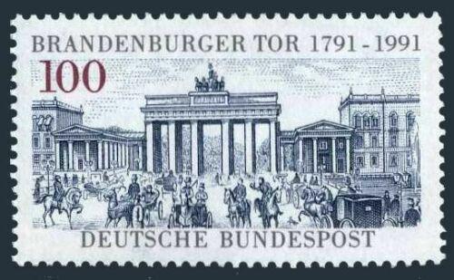 Poštovní známka Nìmecko 1991 Brandenburská brána Mi# 1492