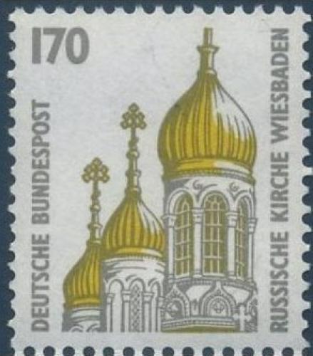 Poštovní známka Nìmecko 1991 Ruský kostel Mi# 1535