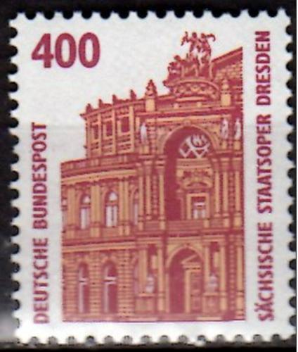 Poštovní známka Nìmecko 1991 Státní opera v Drážïanech Mi# 1562 Kat 4.50€