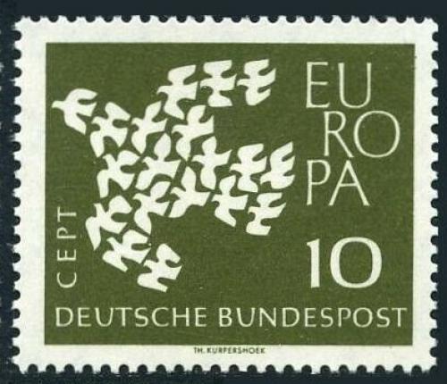 Poštovní známka Nìmecko 1961 Evropa CEPT Mi# 367 y