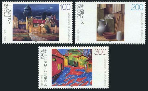Poštovní známky Nìmecko 1995 Umìní Mi# 1774-76 Kat 7.50€