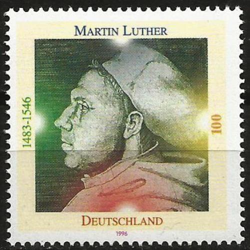 Poštovní známka Nìmecko 1996 Martin Luther Mi# 1841