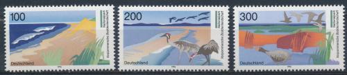Poštovní známky Nìmecko 1996 Národní parky Mi# 1871-73 Kat 7.50€