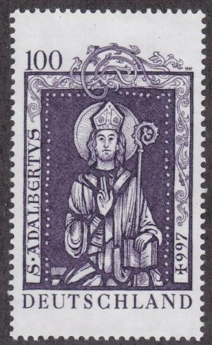 Poštovní známka Nìmecko 1997 Svatý Vojtìch Mi# 1914