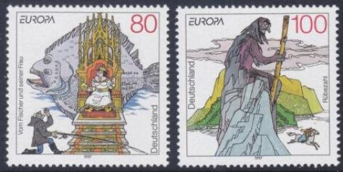 Poštovní známky Nìmecko 1997 Evropa CEPT, legendy Mi# 1915-16