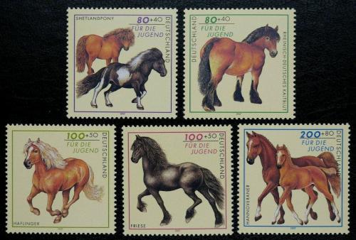 Poštovní známky Nìmecko 1997 Konì Mi# 1920-24 Kat 15€