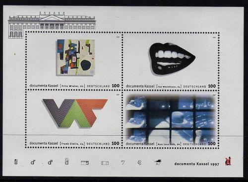 Poštovní známky Nìmecko 1997 Umìní Mi# Block 39