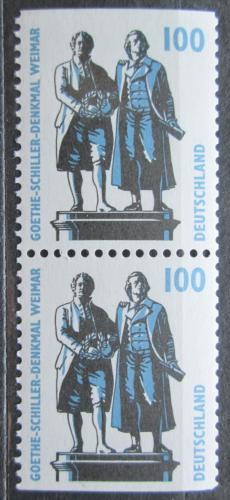 Poštovní známky Nìmecko 1997 Goethe-Schillerùv památník Mi# 1934 C-D