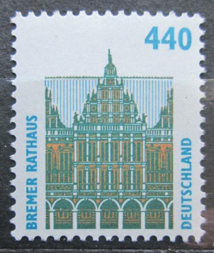Poštovní známka Nìmecko 1997 Radnice v Brémách Mi# 1937 A Kat 5€