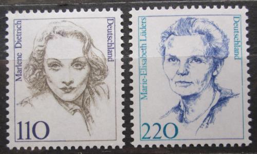 Poštovní známky Nìmecko 1997 Slavné ženy Mi# 1939-40 Kat 3.80€