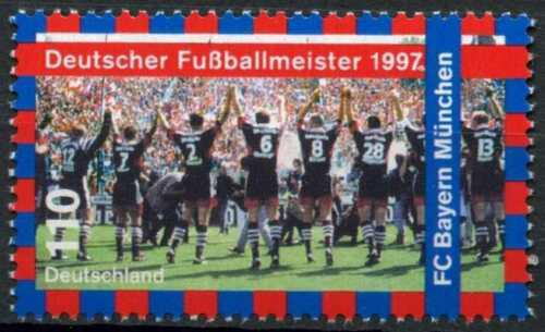 Poštovní známka Nìmecko 1997 FC Bayern Mnichov Mi# 1958