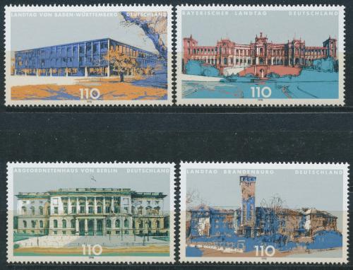 Poštovní známky Nìmecko 1998 Budovy parlamentù Mi# 1974-77 Kat 5€