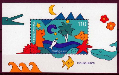 Poštovní známka Nìmecko 1998 Pro dìti Mi# Block 42