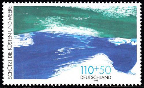 Poštovní známka Nìmecko 1998 Ochrana moøí a pobøeží Mi# 1989