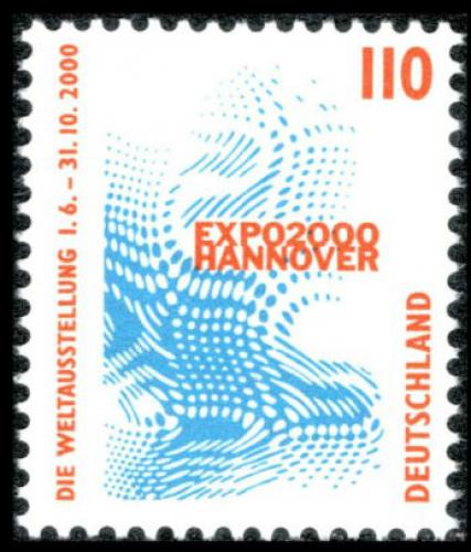 Poštovní známka Nìmecko 1998 Výstava EXPO Hannover Mi# 2009 A