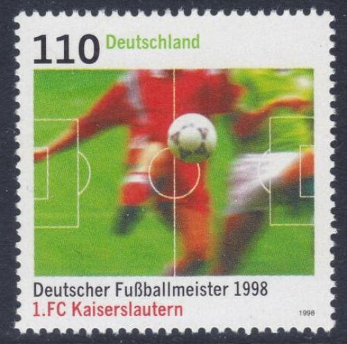 Poštovní známka Nìmecko 1998 1. FC Kaiserslautern Mi# 2010