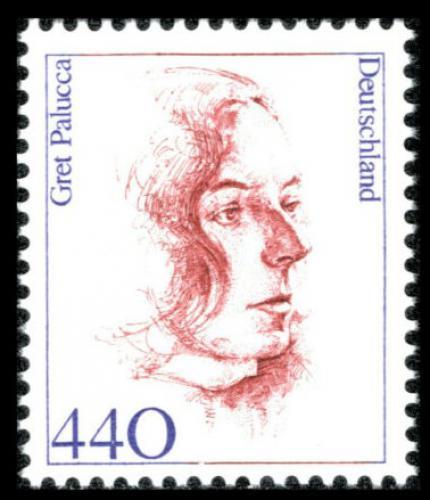Poštovní známka Nìmecko 1998 Gret Palucca, taneènice Mi# 2014 Kat 6.50€
