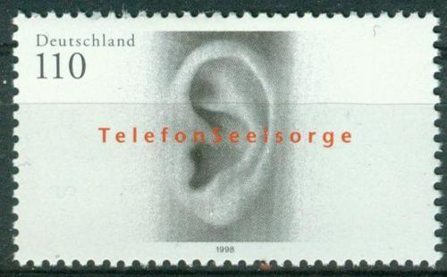 Poštovní známka Nìmecko 1998 Ucho Mi# 2021