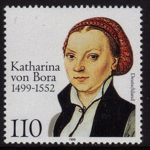 Poštovní známka Nìmecko 1999 Katharina von Bora Mi# 2029