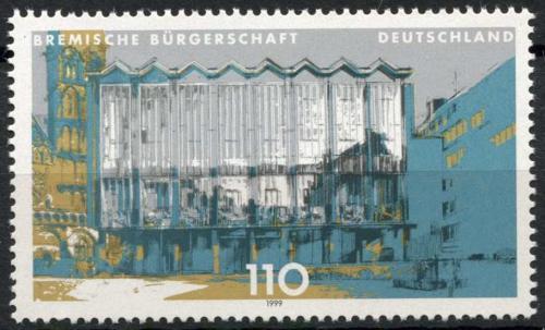 Poštovní známka Nìmecko 1999 Parlament v Brémách Mi# 2040