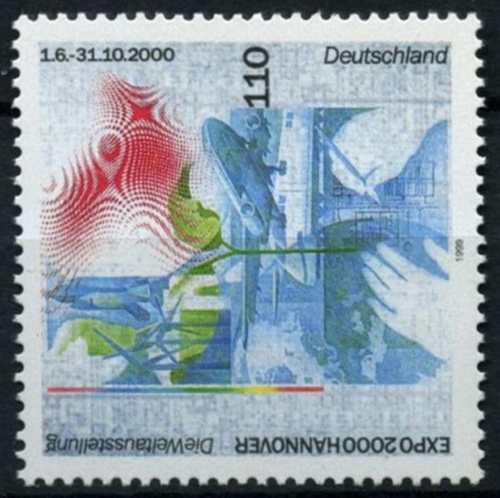Poštovní známka Nìmecko 1999 Výstava EXPO Hannover Mi# 2042
