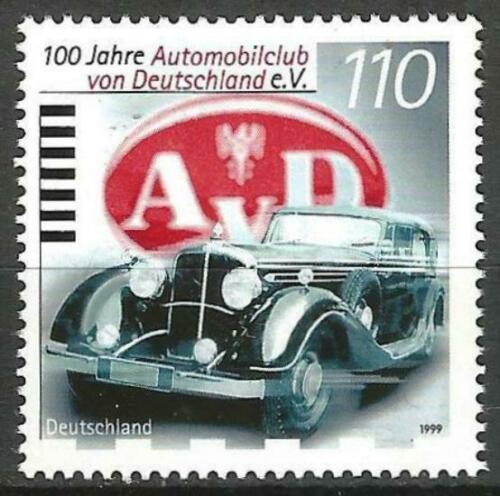 Poštovní známka Nìmecko 1999 Automobil Maybach Mi# 2043