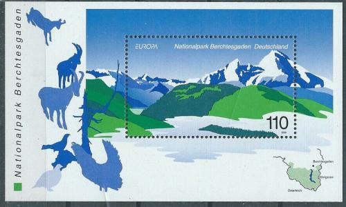 Poštovní známka Nìmecko 1999 Evropa CEPT, NP Berchtesgaden Mi# Block 47